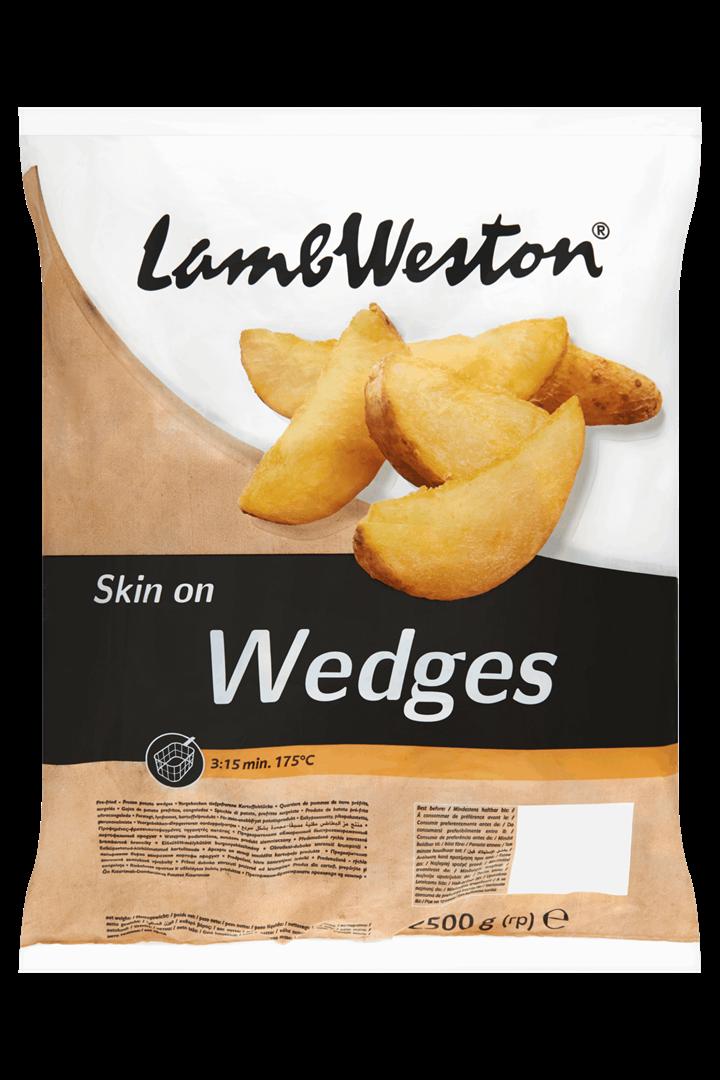 Productafbeelding Lamb Weston Aardappelpartjes Wedges Skin on 2500 g Zak