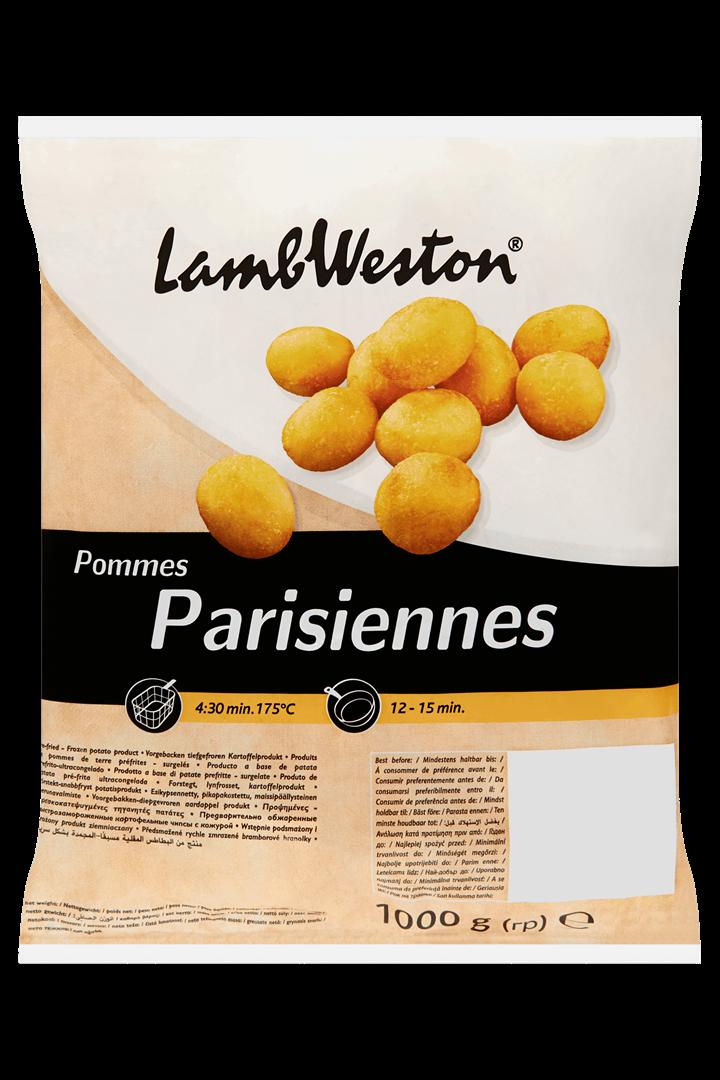 Productafbeelding Lamb Weston Aardappelprodukt Parisiennes 1000 g Zak