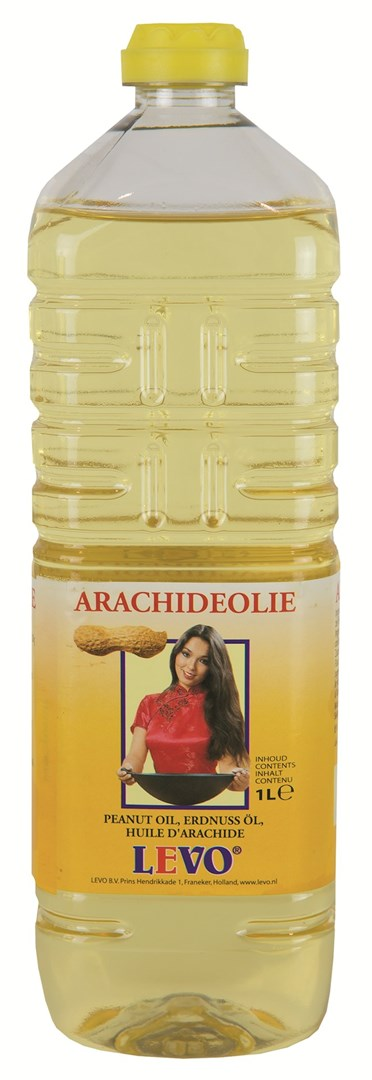 Productafbeelding Arachide olie 1 liter fles
