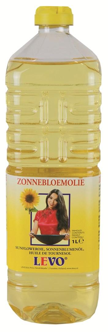 Productafbeelding Zonnebloemolie 1 liter fles