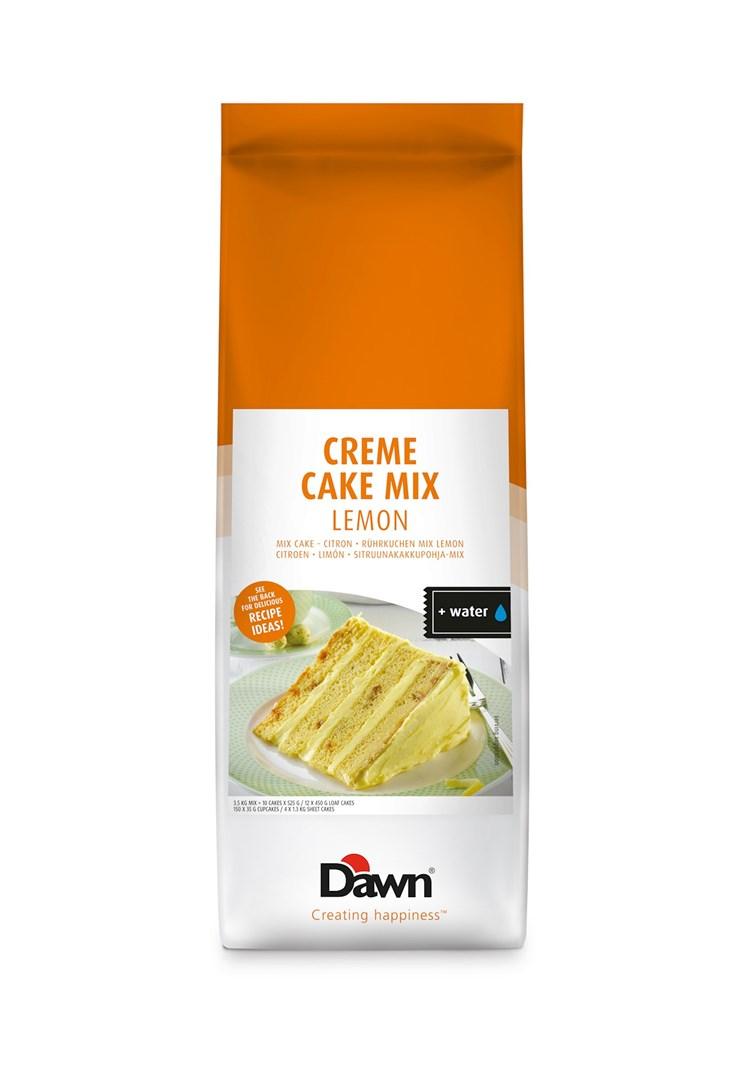 Productafbeelding Dawn Creme Cake Mix - Lemon 3,5 KG zak