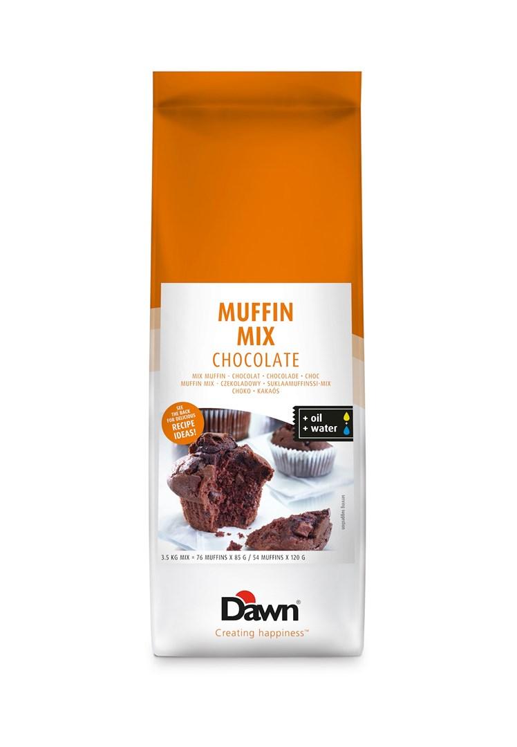 Productafbeelding Dawn Muffin Mix - Chocolate 3,5 KG zak