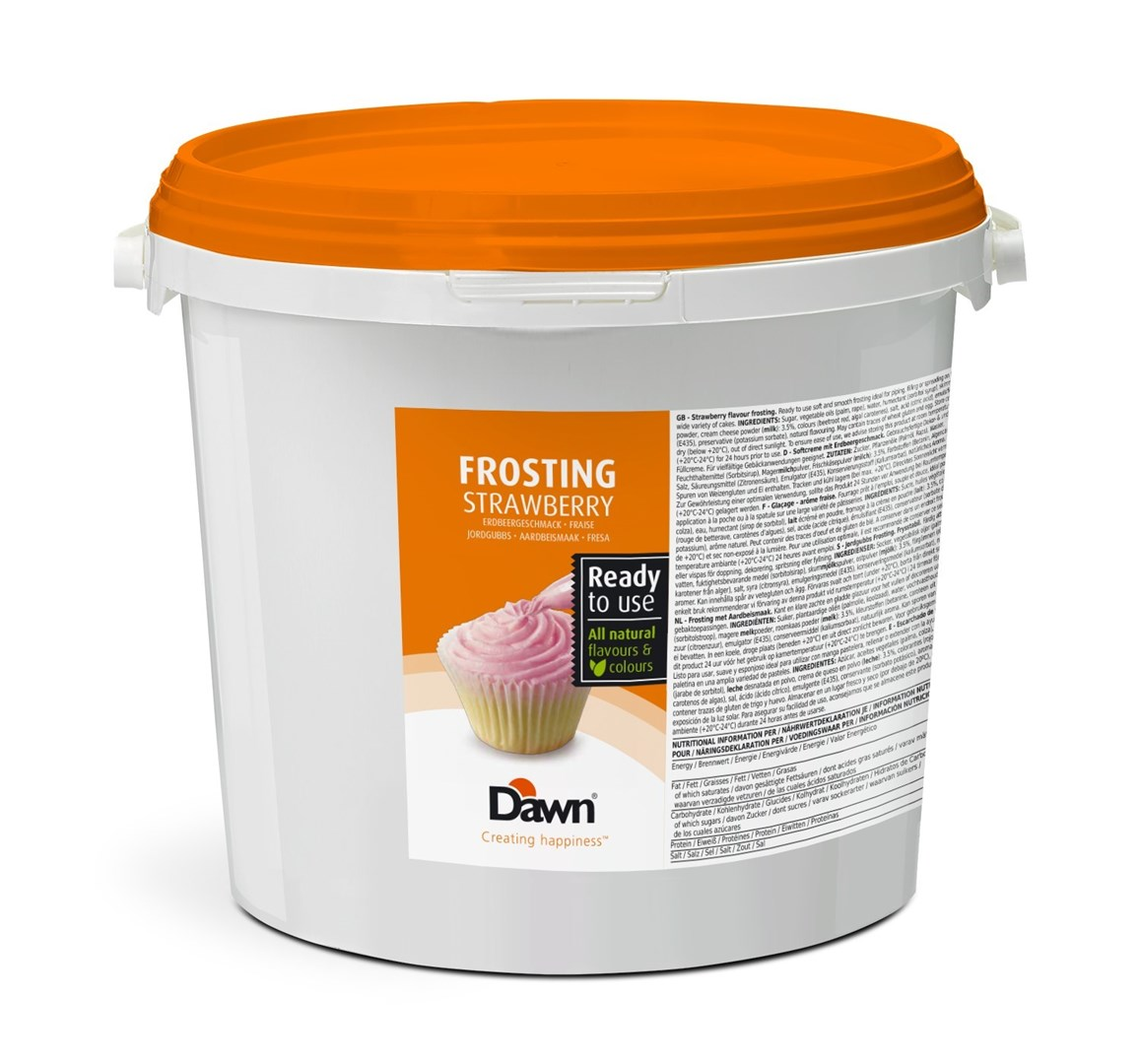 Productafbeelding Dawn Frosting Strawberry 6 KG emmer