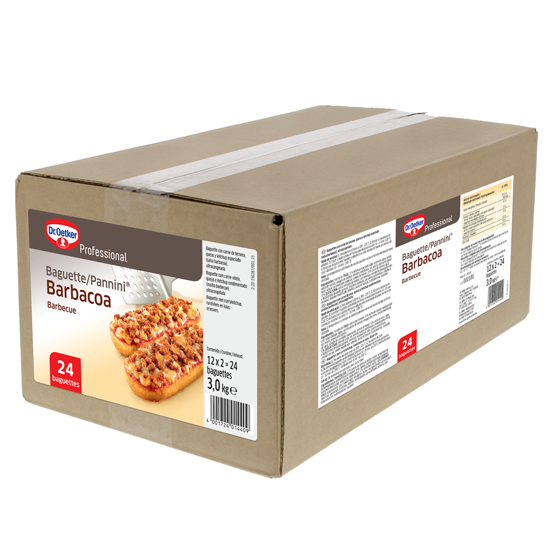Productafbeelding Dr. Oetker Professional Baguette Barbecue 24x125g
