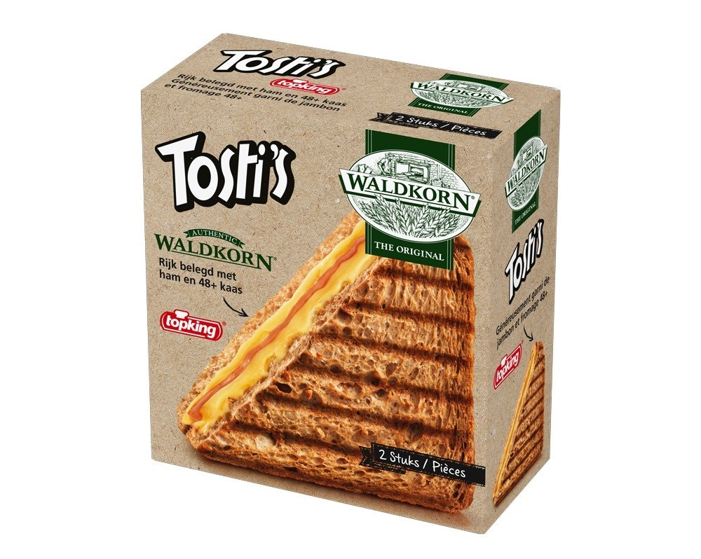 Productafbeelding Waldkorn® Tosti's 2x1 st.