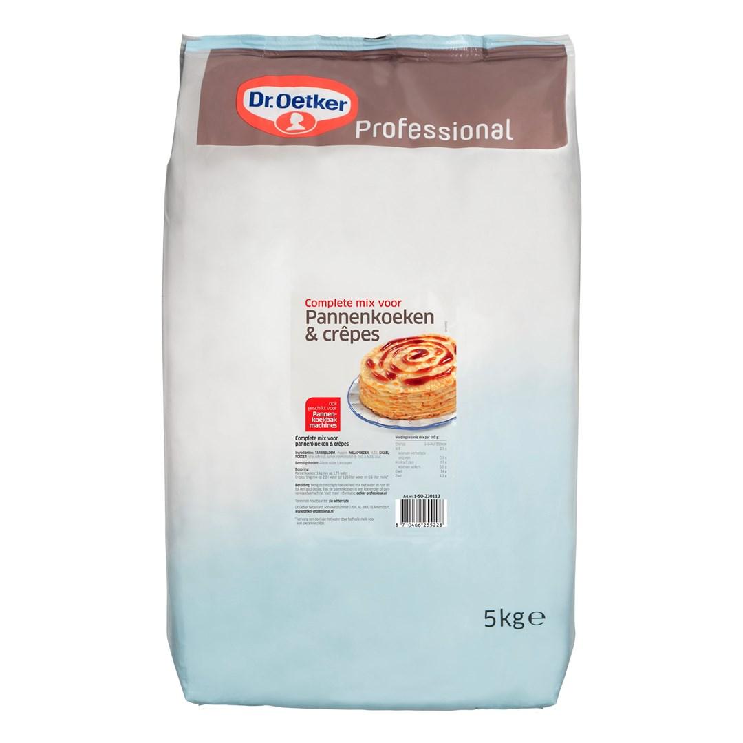 Productafbeelding Dr. Oetker Professional Complete mix voor Pannenkoeken & crêpes 2x5kg