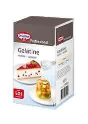 Productafbeelding Dr. Oetker Professional Gelatinepoeder 12x1kg