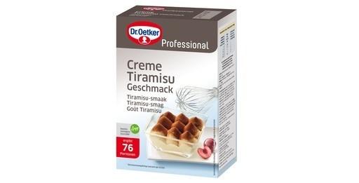 Productafbeelding Dr. Oetker Professional Crème Tiramisu 6x1kg
