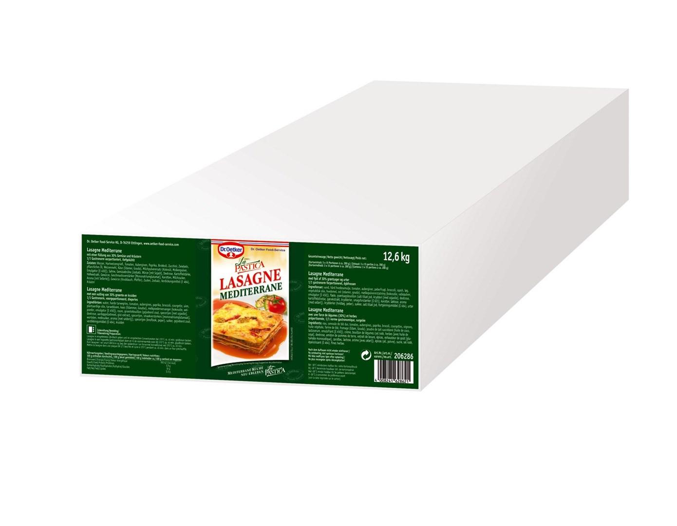 Productafbeelding Dr. Oetker Professional Mediterraanse Lasagne 45x280g