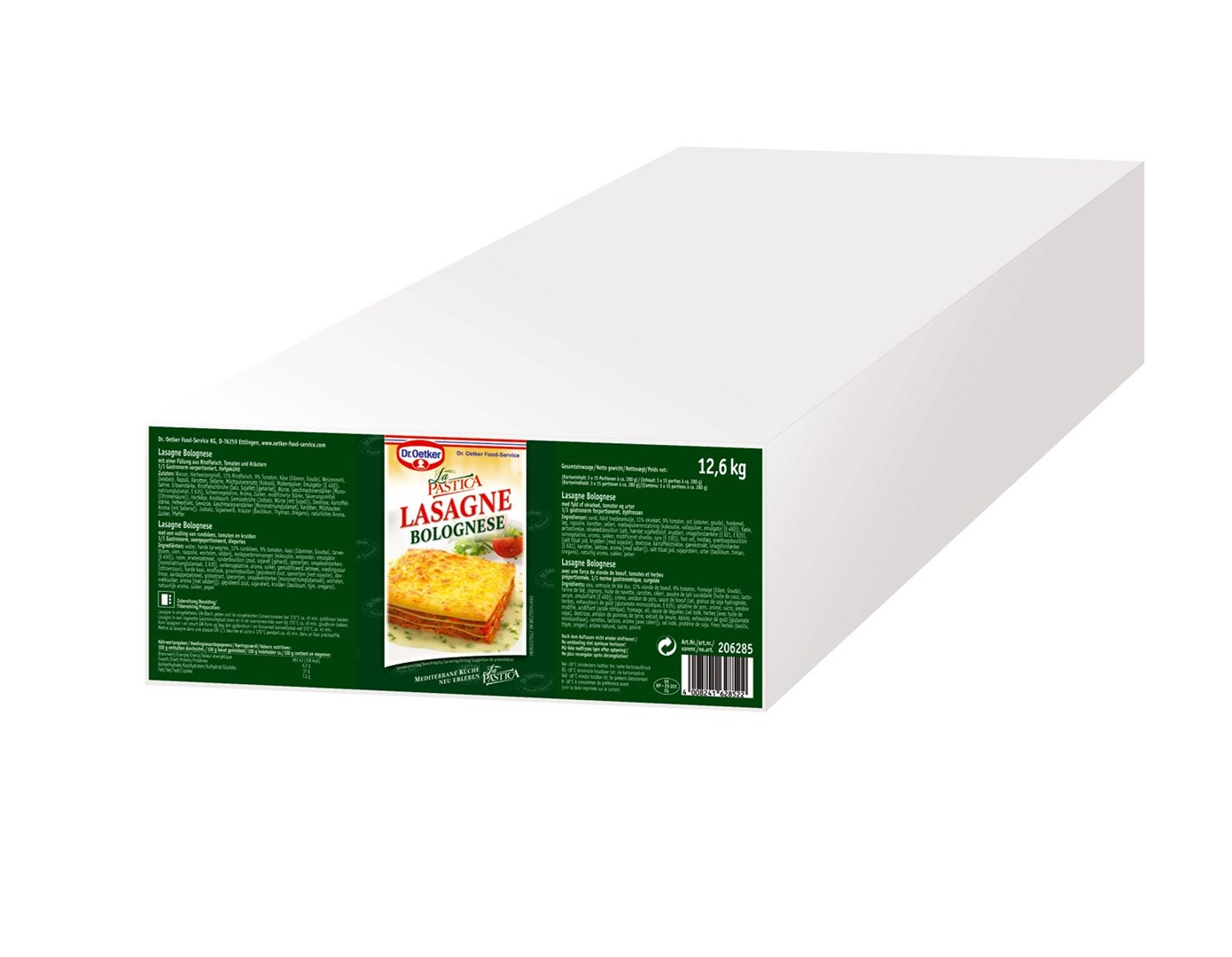 Productafbeelding Dr. Oetker Professional Lasagne Bolognese 36x300g