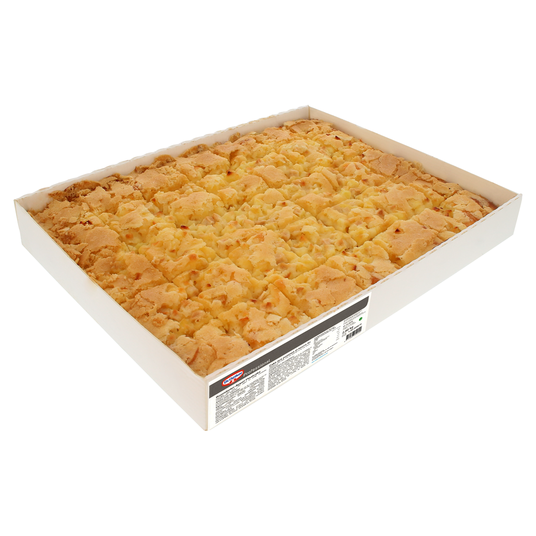Productafbeelding Dr. Oetker Professional Roomboter appel plaatcake 2x35x40g