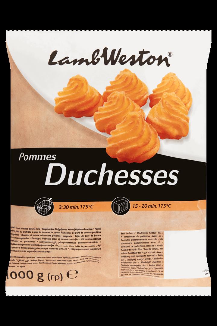 Productafbeelding Lamb Weston Aardappelpuree Pommes Duchesses 1000 g Zak