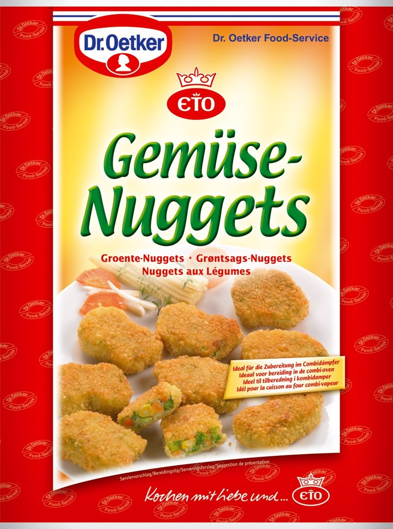 Productafbeelding Dr. Oetker Professional Groente nuggets 2x2.5kg