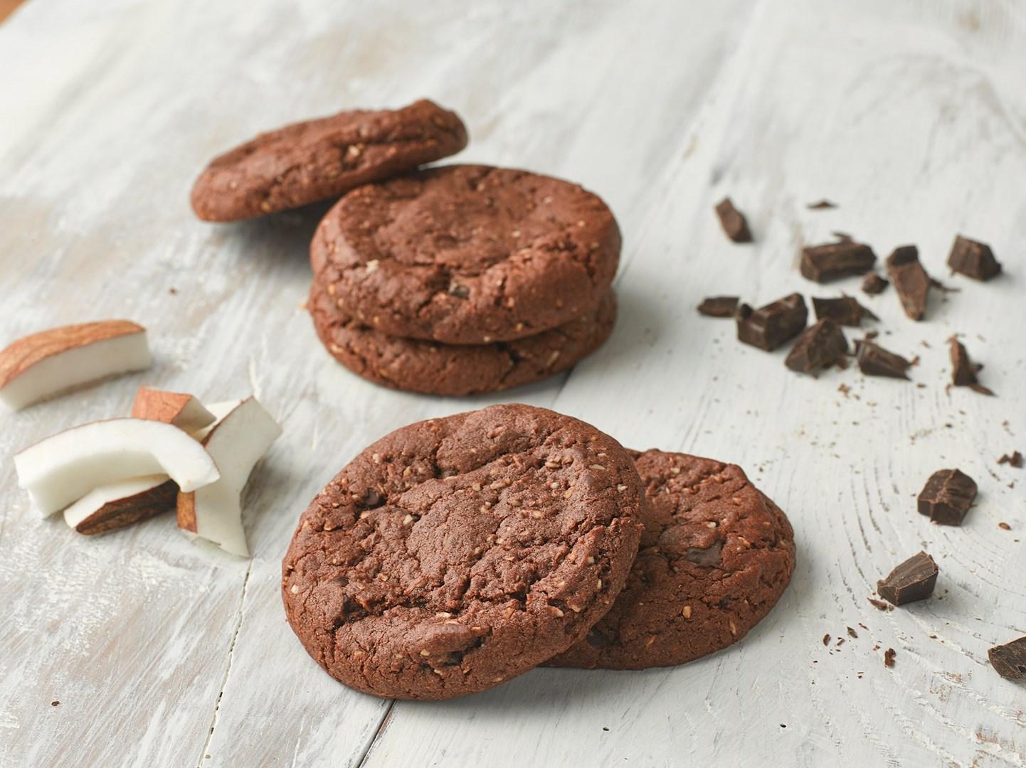 Productafbeelding Dawn Chocolate and Coconut Cookie 28 stuks doos