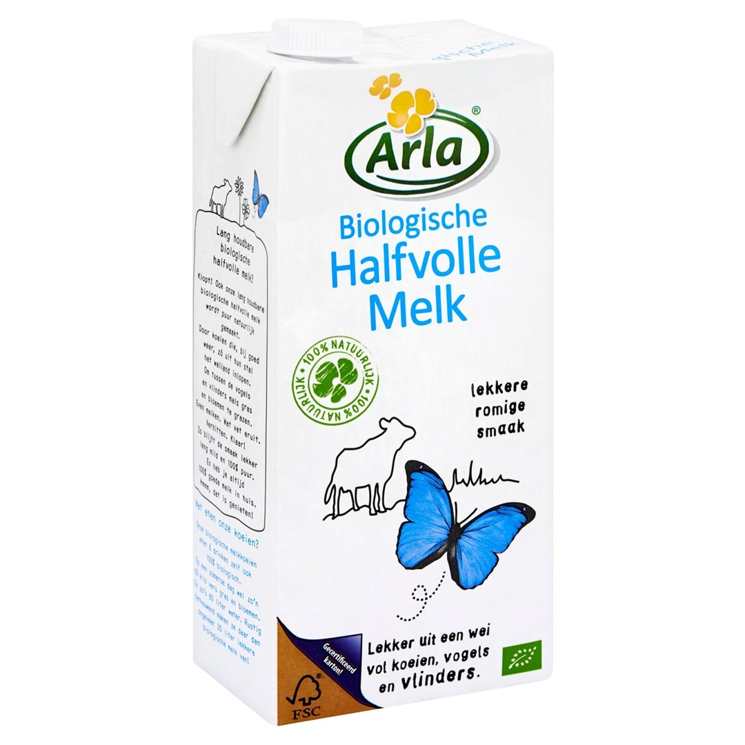 Productafbeelding Arla Bio UHT-melk 1,5% 1L