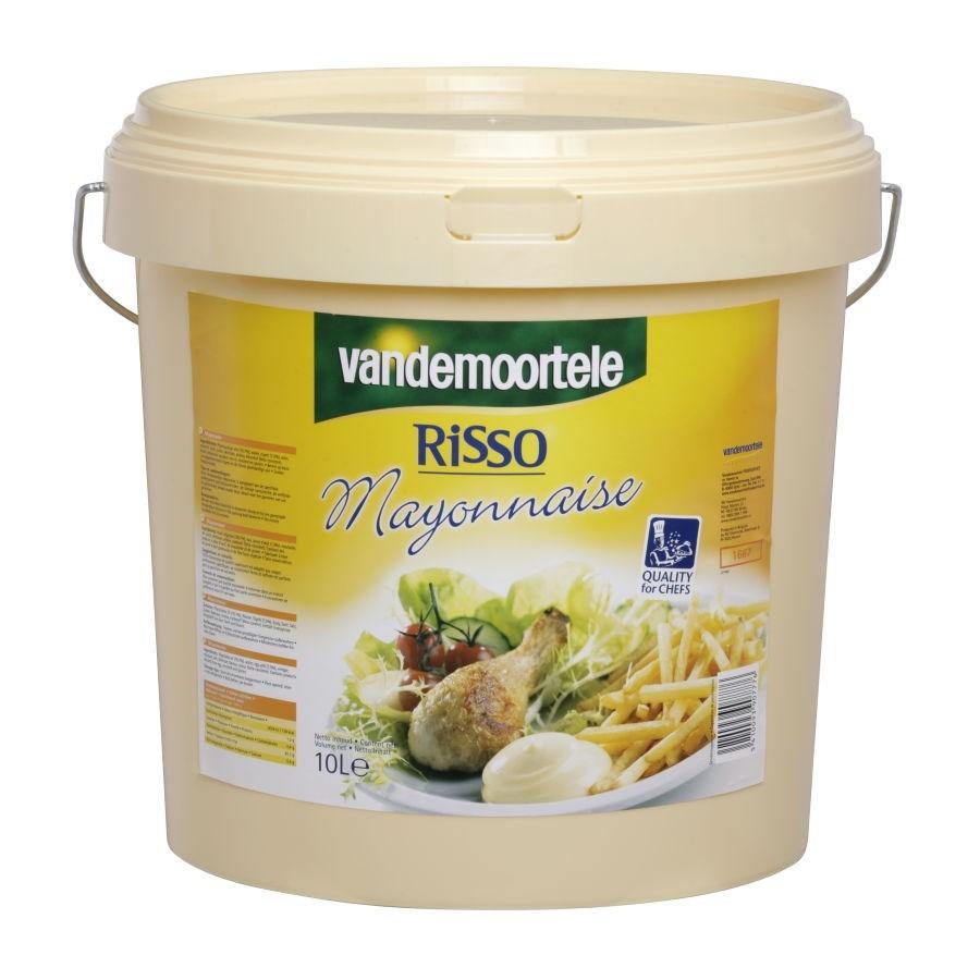 Productafbeelding Mayonnaise Vandemoortele Risso 10l