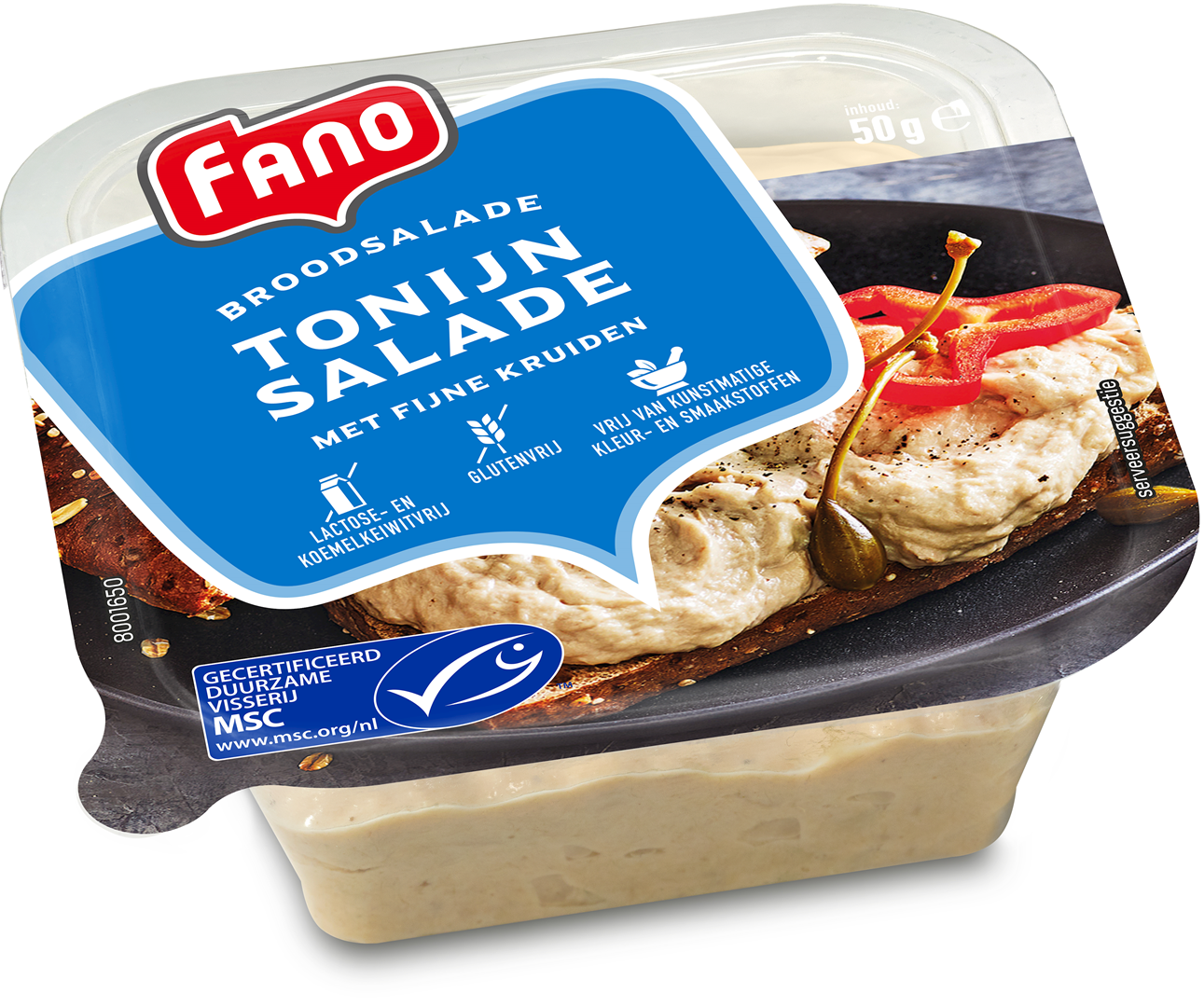 Productafbeelding FANO Tonijnsalade 50g