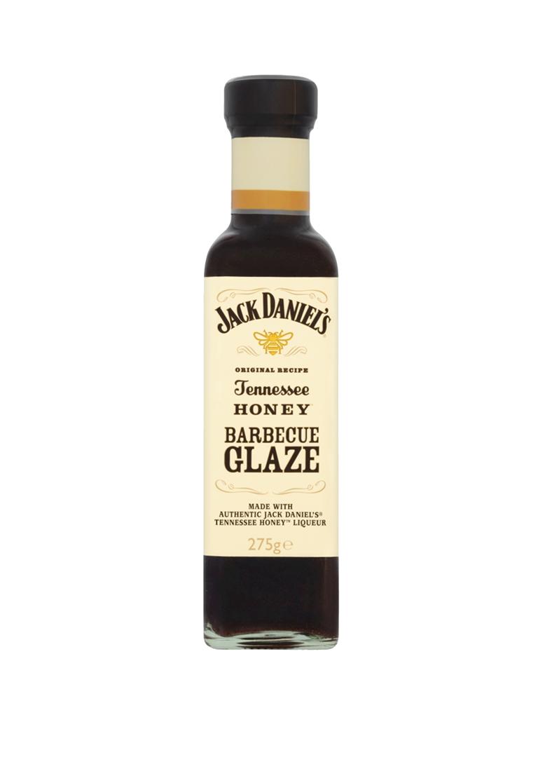 Productafbeelding Jack Daniel's barbeque glaze Tennesse honey 275g fles