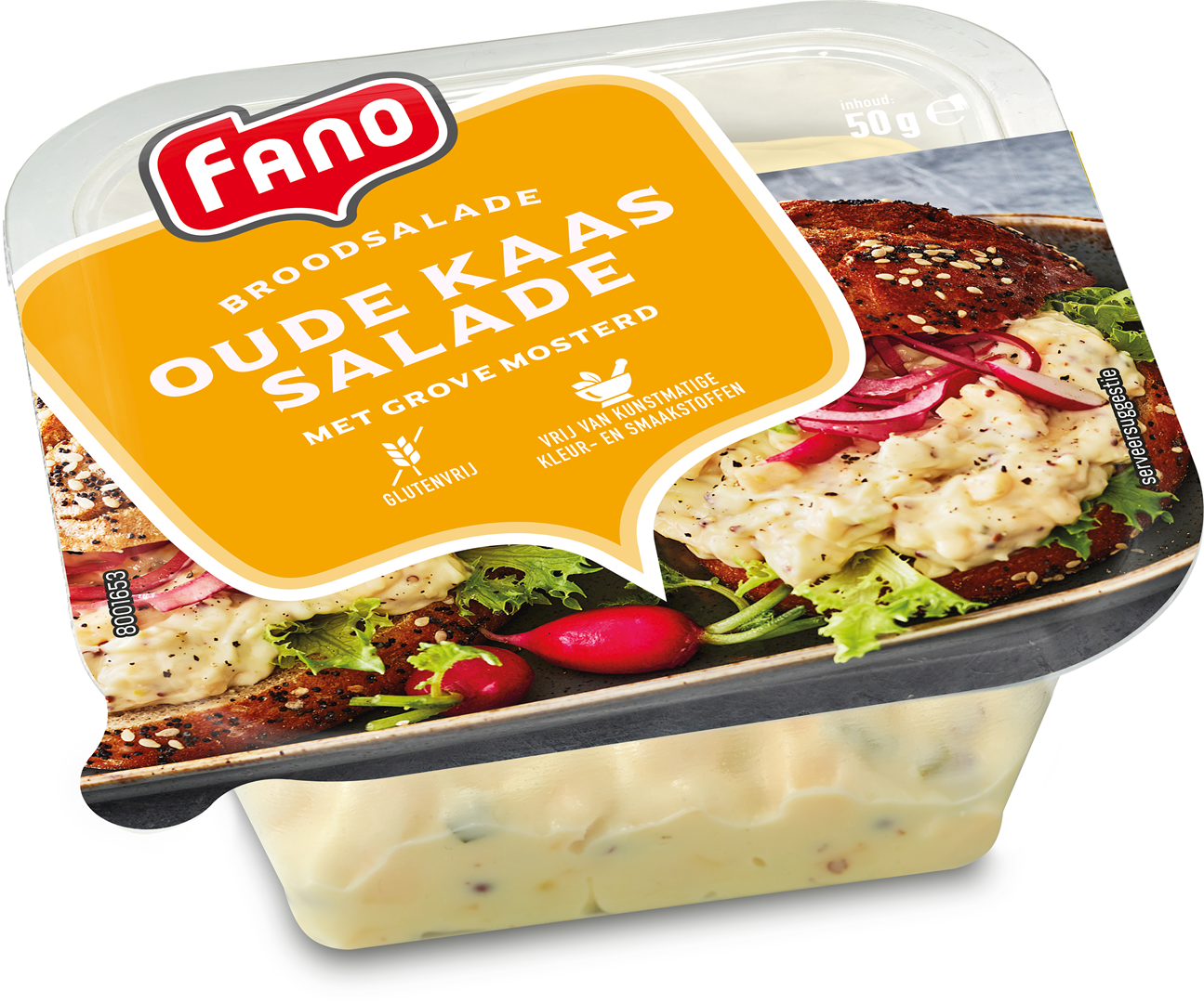 Productafbeelding FANO Oude kaas salade 50g