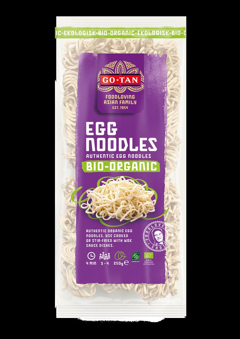 Productafbeelding Go-Tan Egg Noodles BIO 250g