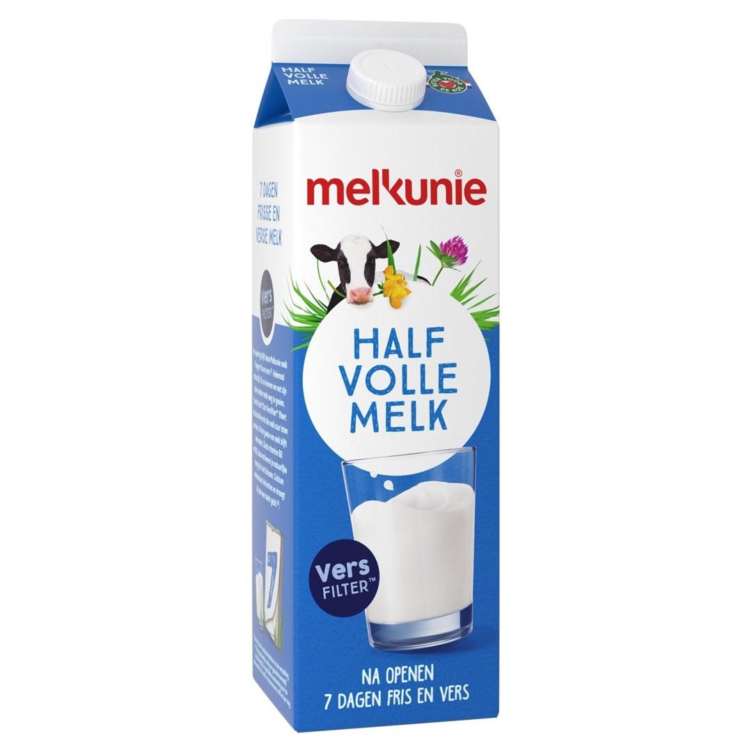Productafbeelding Melkunie Halfvolle Melk 1L pak