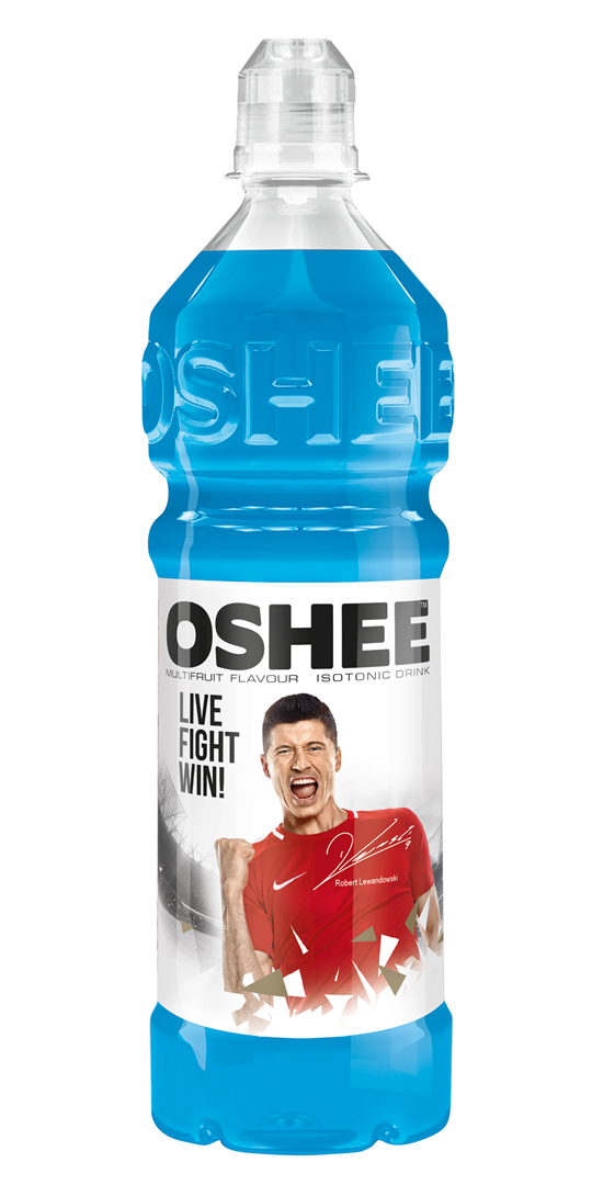 Productafbeelding Oshee isotonic sports drink multifruit flavour 0,75l fles