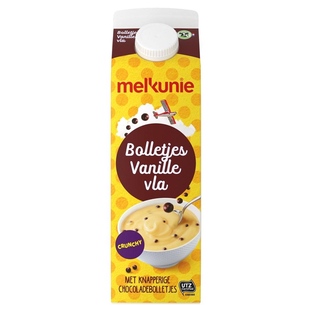Productafbeelding Melkunie Bolletjes Vanillevla Crunch 1L pak