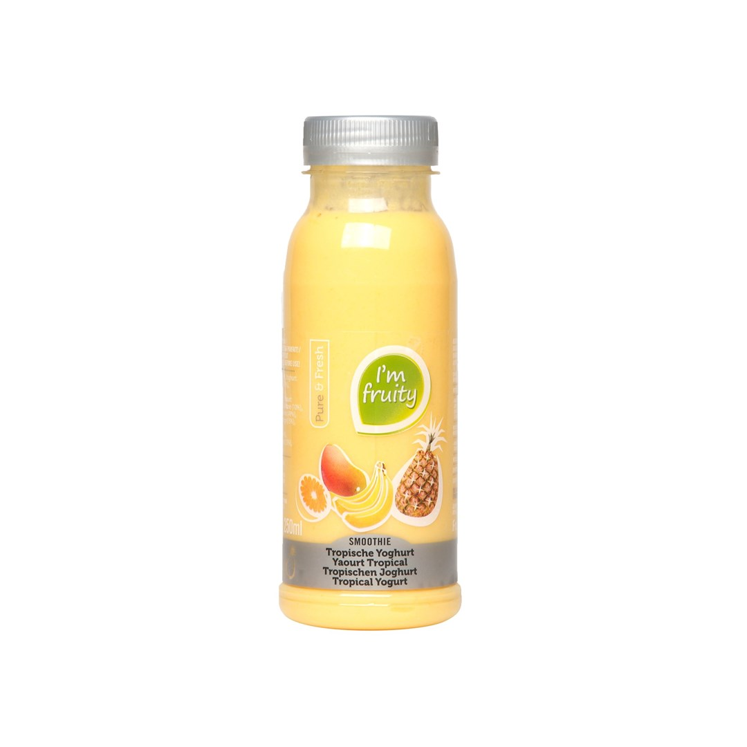 Productafbeelding Smoothie Tropical Yoghurt HPP 0,25L