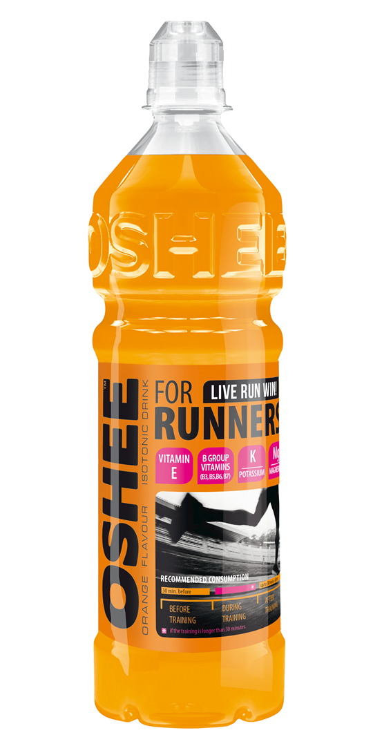 Productafbeelding Oshee isotonic sports drink orange flavour 0,75l fles