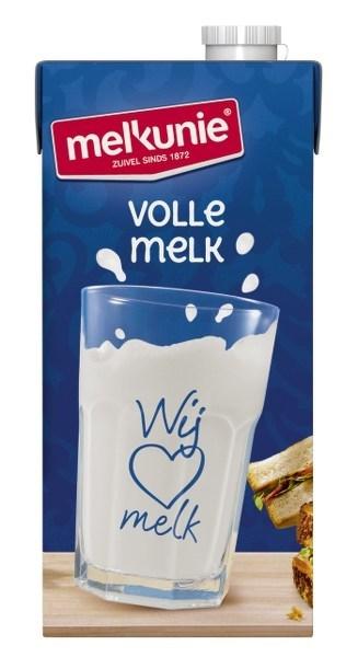 Productafbeelding Melkunie Volle Houdbare Melk 6x1L pak