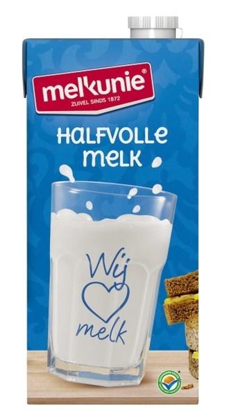 Productafbeelding Melkunie Halfvolle Houdbare Melk 6x1L pak