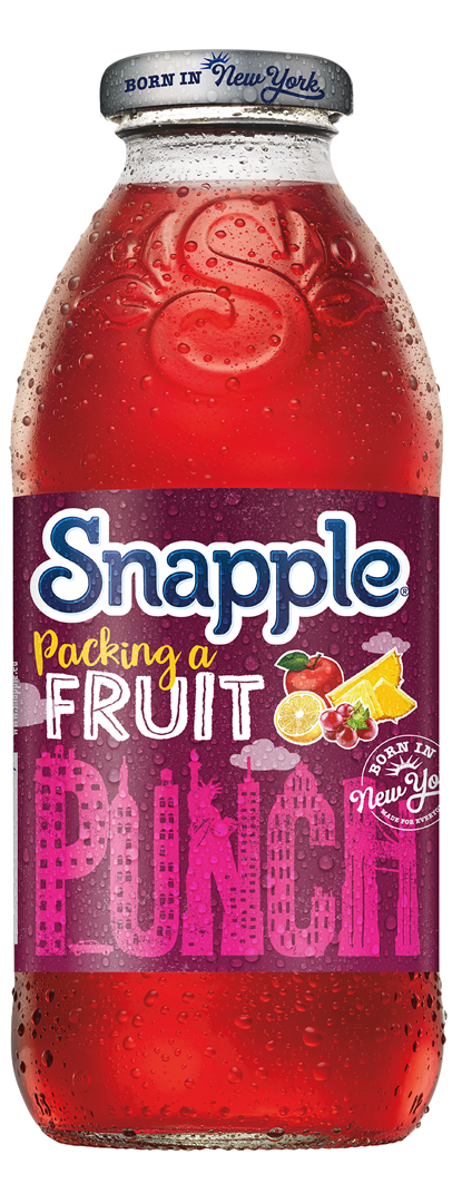 Productafbeelding Snapple limonade fruit punch 473ml fles