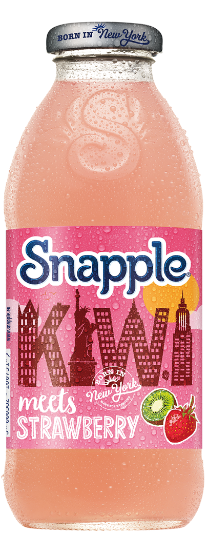 Productafbeelding Snapple limonade kiwi strawberry 473ml fles