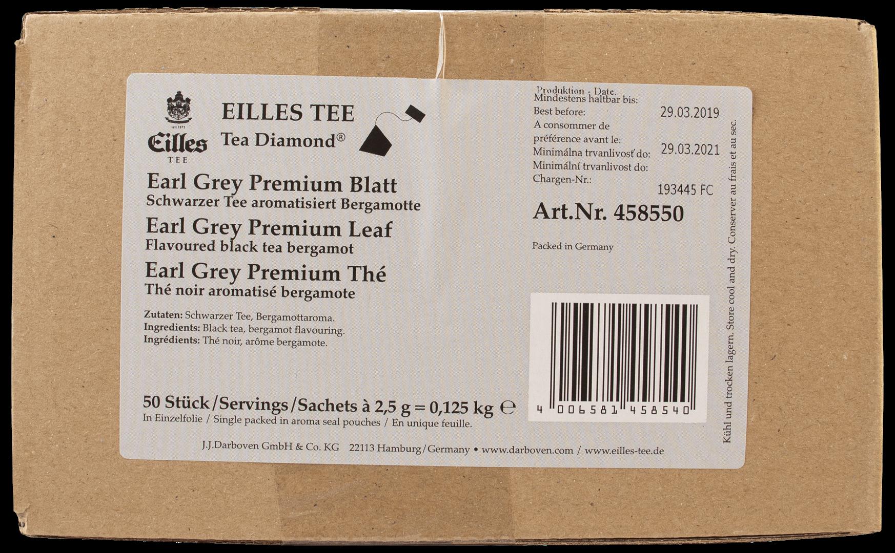 Productafbeelding Eilles Tea Diamonds Earl Grey Premium geënveloppeerd