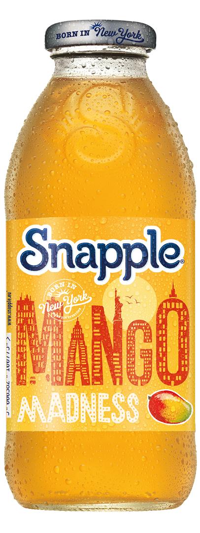 Productafbeelding Snapple limonade mango 473ml fles