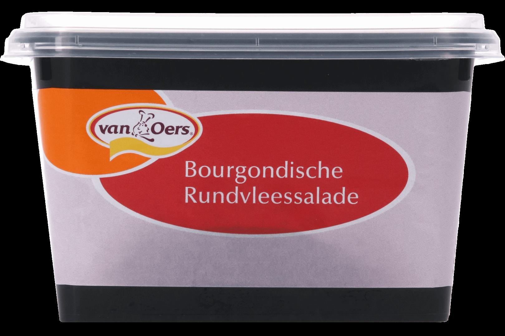 Productafbeelding Van Oers Bourgondische rundvleessalade 1kg