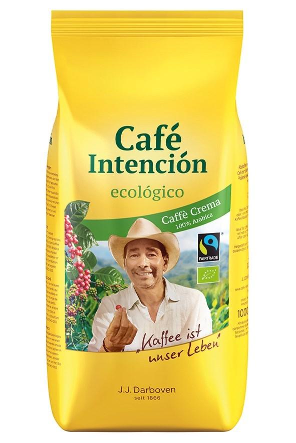 Productafbeelding Café Intención ecológico Caffé Crema, 1000g bonen