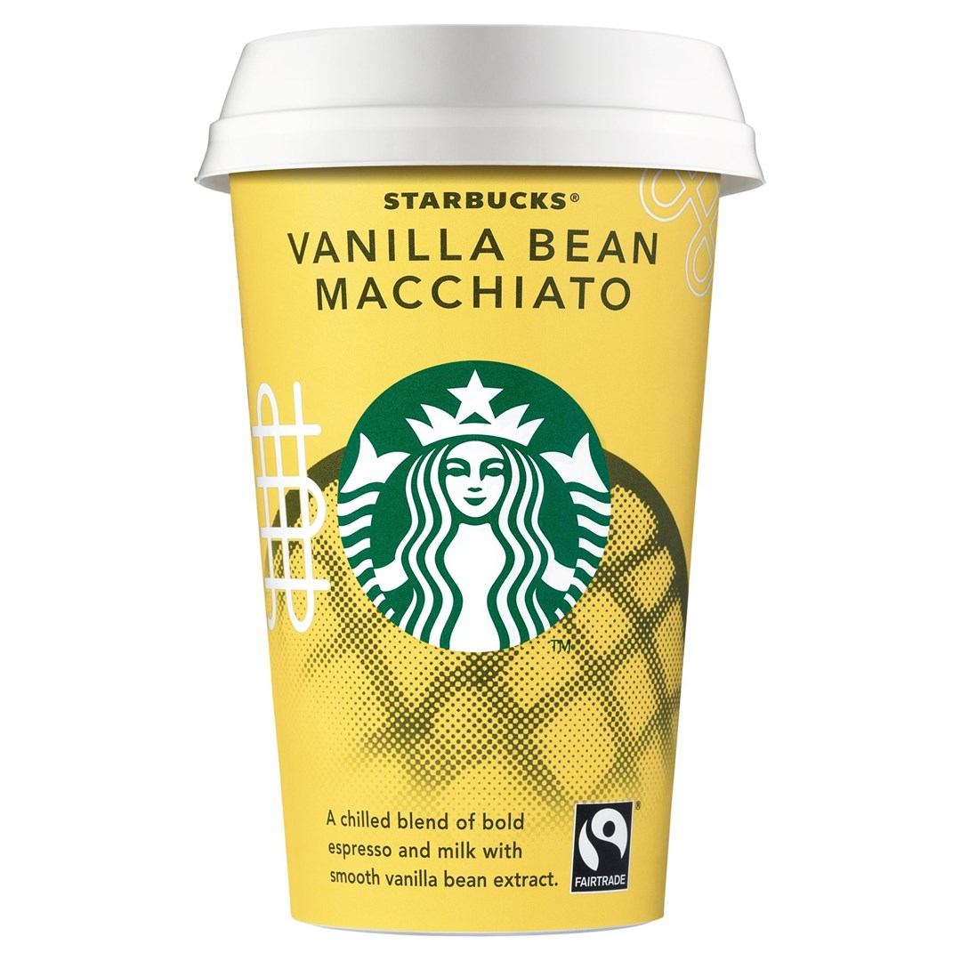 Productafbeelding Starbucks Chilled Classics Vanilla Bean Macchiato 220ml beker