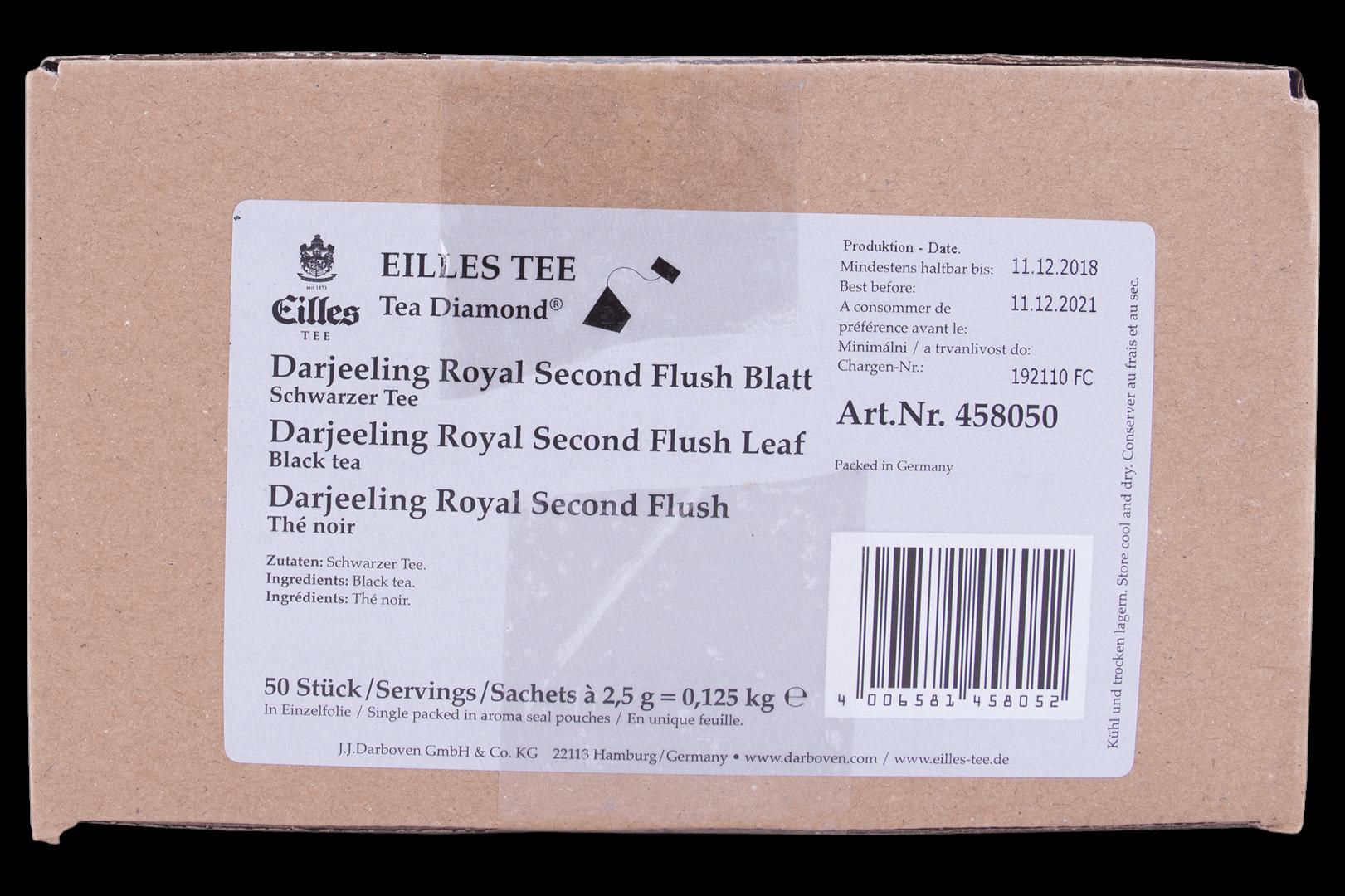 Productafbeelding Eilles Tea Diamonds Darjeeling 2nd Flush geënveloppeerd