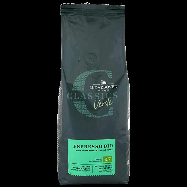 Productafbeelding JJD Classics  Café Verde Bio Espresso bonen