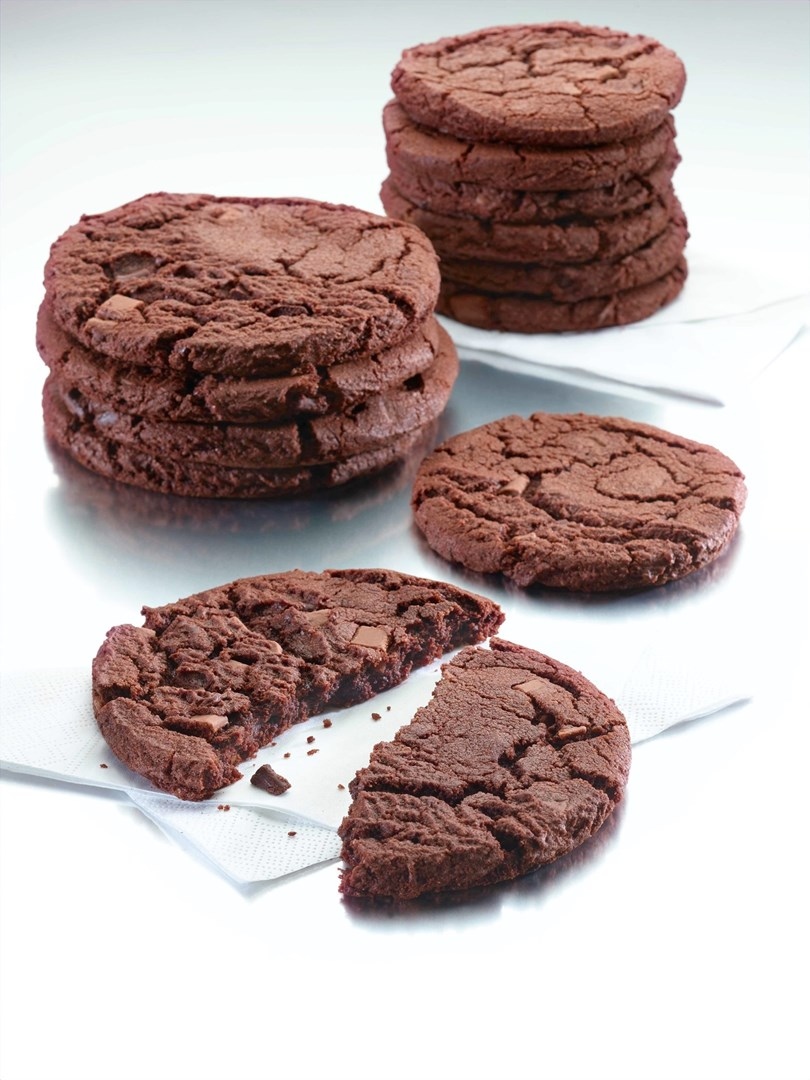 Productafbeelding Dawn Double Chocolate Mega Cookie 36 stuks doos