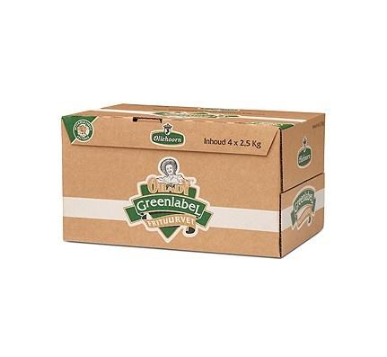 Productafbeelding Oliehoorn Frituurvet Green Label 4 x 2,5 kg