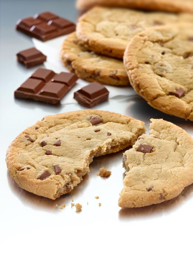 Productafbeelding Dawn Milk Chocolate Mega Cookie RSPO MB 36 stuks doos