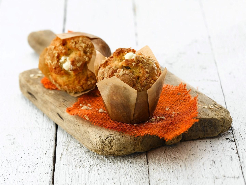 Productafbeelding Dawn Fruity Carrot Tulip Muffin 30 stuks doos