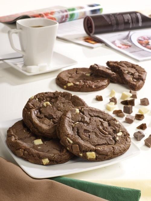 Productafbeelding Dawn Triple Belgian Chocolate Chunk Cookie 30 stuks doos