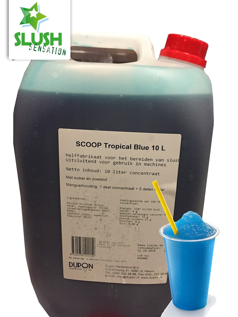Productafbeelding Slush Trop.Blue(non azo) 5L