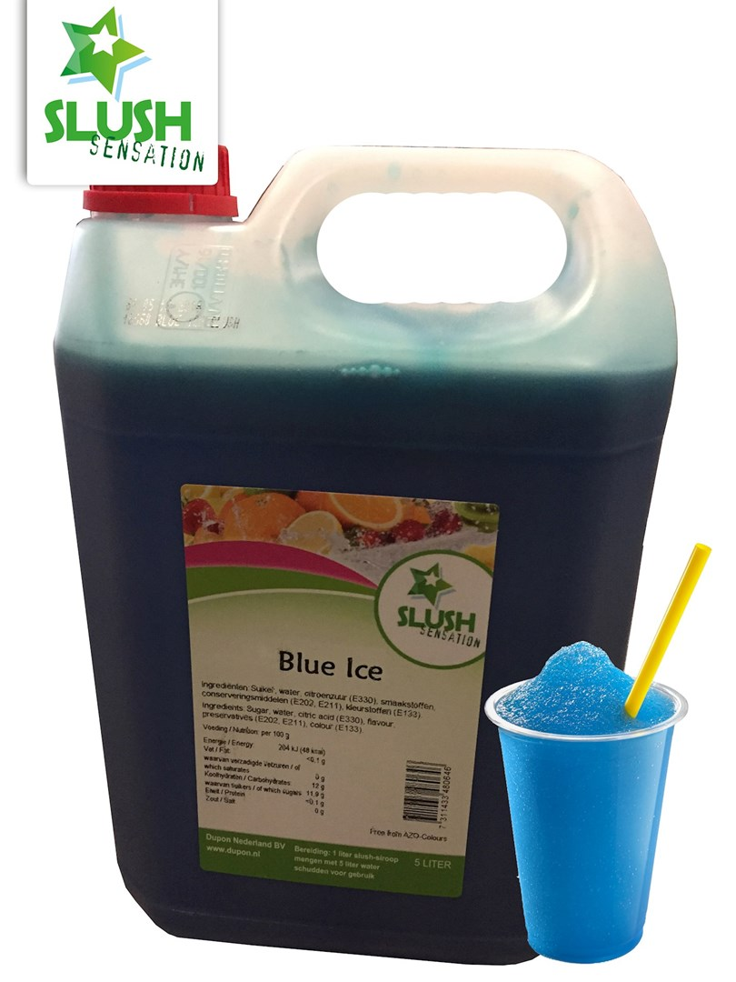 Productafbeelding Slush Ijsblauw(non azo) 5L