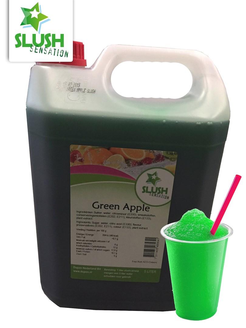 Productafbeelding Slush Green Apple(non azo) 5L