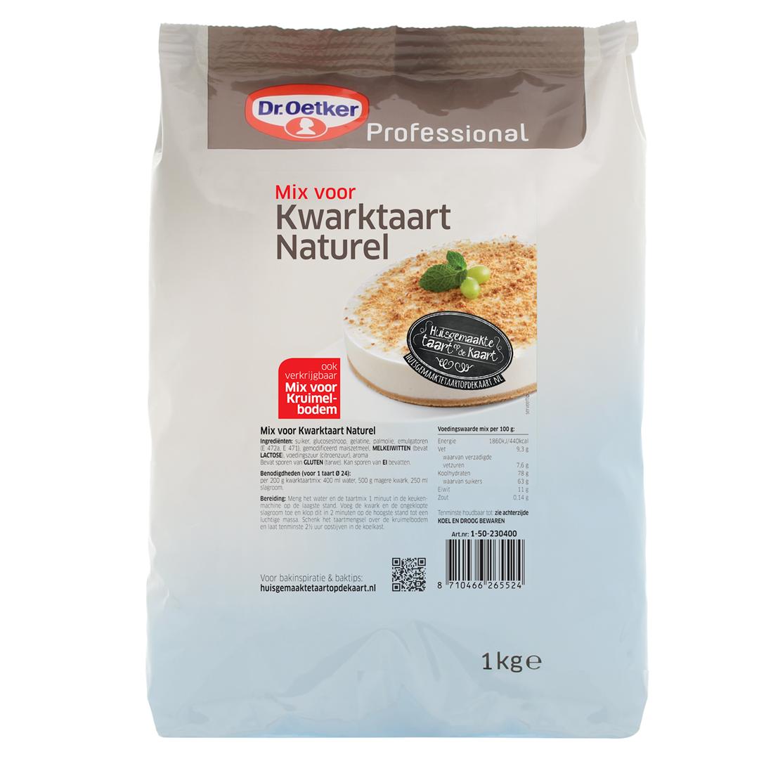 Productafbeelding Dr. Oetker Professional Mix voor Kwarktaart Naturel 6x1kg