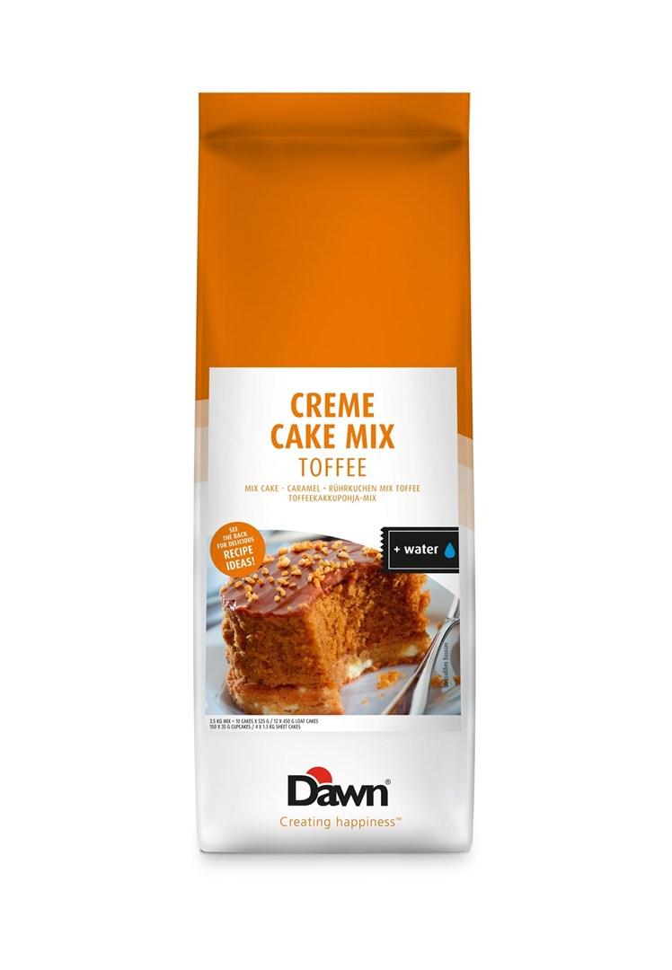 Productafbeelding Dawn Creme Cake Mix - Toffee 3,5 KG stazak